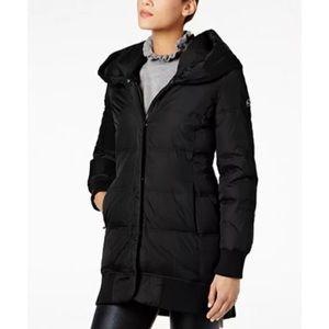Michael Kors puffer down hooded parka jacket coat